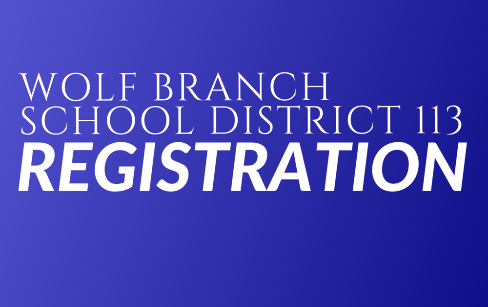 Wolf Branch Pre-K and New Student Registration