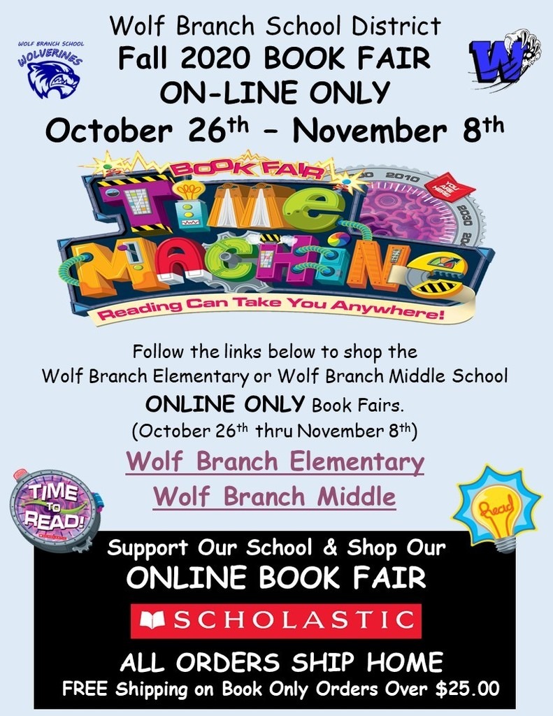 Wolf Branch 2020 On-Line Only Book Fair