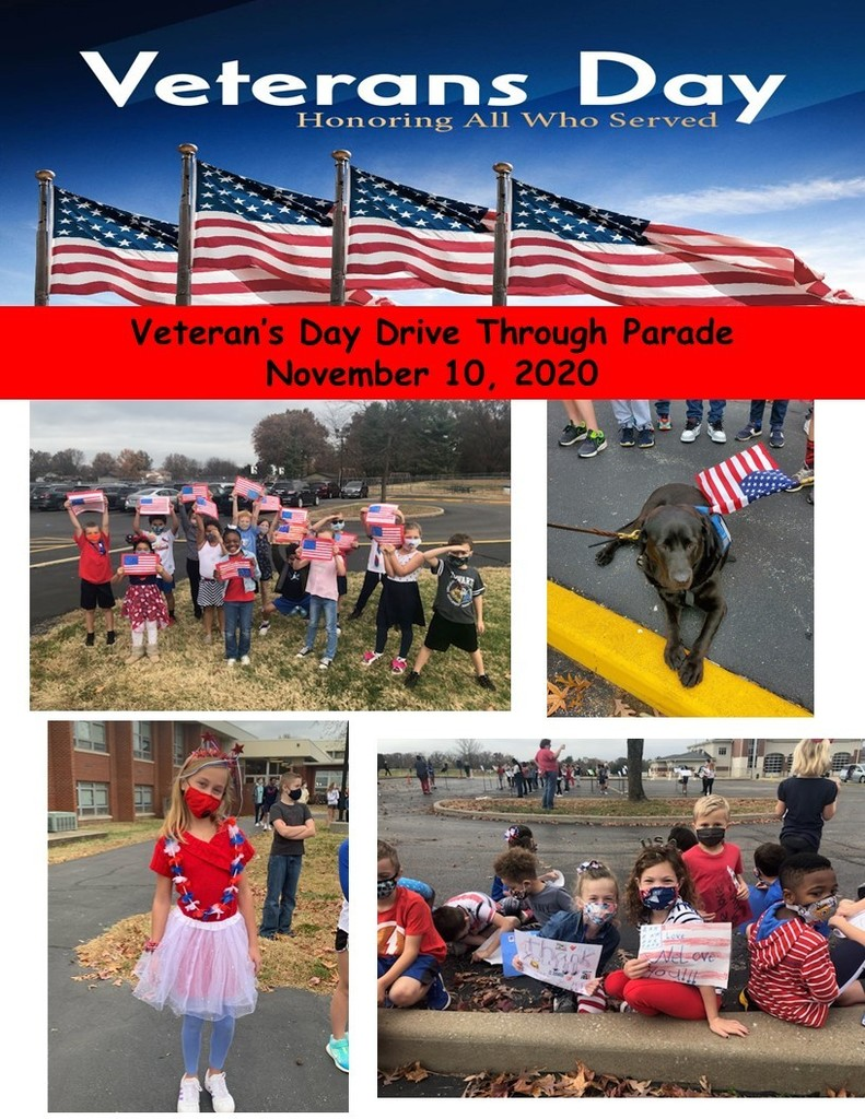 Wolf Branch Veterans Day Drive Through Parade