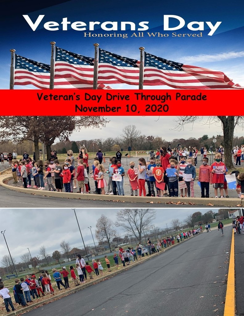 Wolf Branch Veteran's Day Drive Through Parade