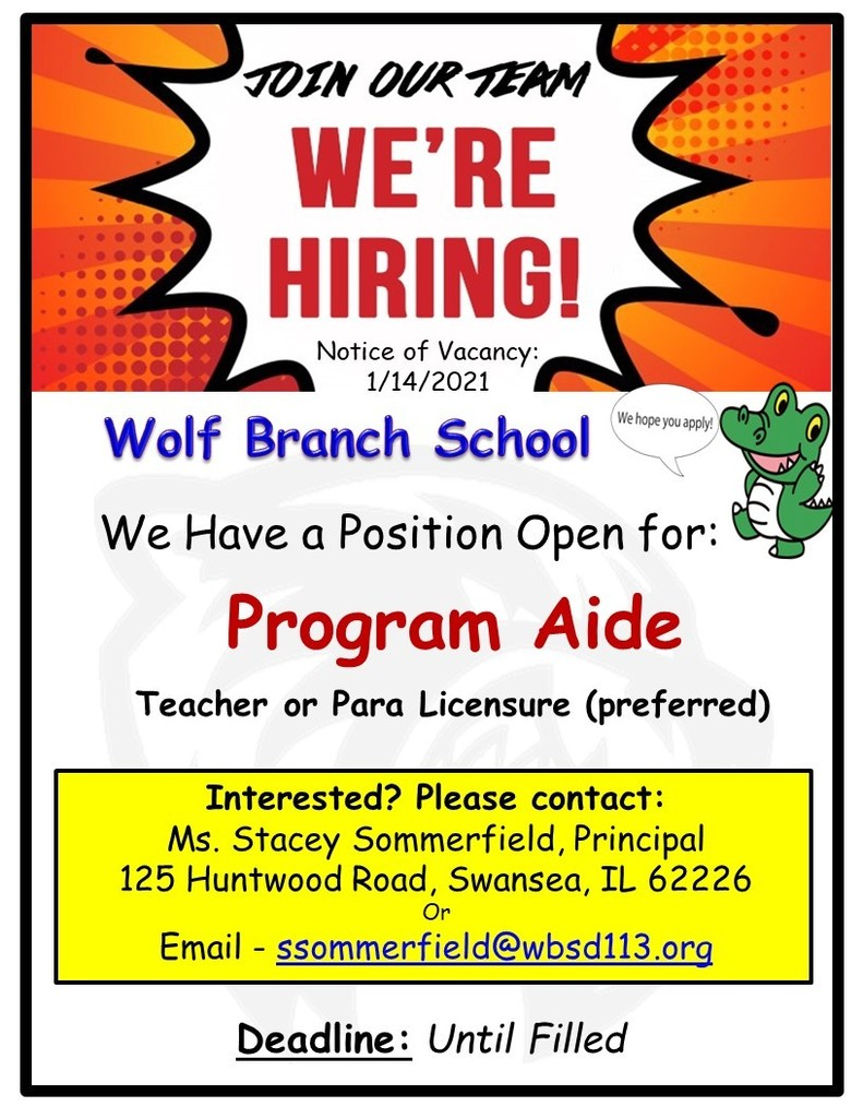 Wolf Branch - Program Aide