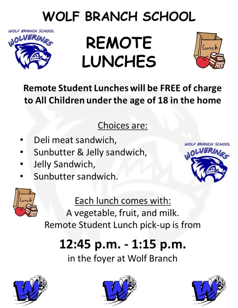 Remote Student Lunches